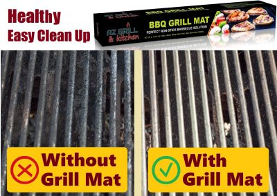dirty clean grill grill mat